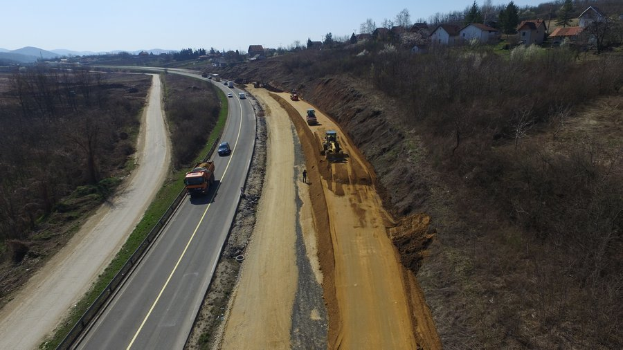 Construction of the motorway Batočina - Kragujevac