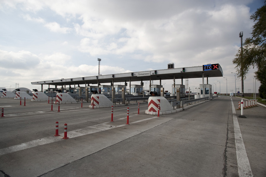 Toll station Šimanovci