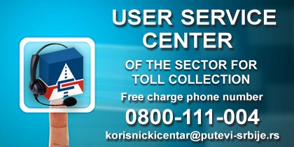 User Service Center for Toll Highway Users