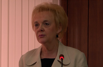 Ljerka Ibrović, rukovodilac Odeljenja za odnose sa javnošću / prezentacija plana Zimske službe 2015/16