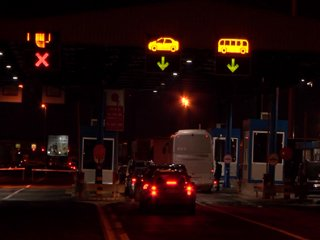 Lighting of the border crossing Batrovci and broadcast on RTV, cover