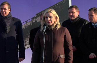 Statement of Zorana Mihajlović on the occasion of laying the foundation stone for the new bridge over the river Sava at Ostružnica