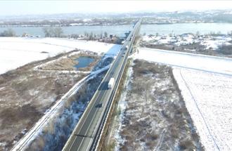 Obilaznica oko Beograda - most preko Save kod Ostružnice