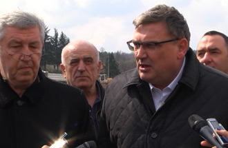 Zoran Drobnjak, Acting Director – Second carriageway of Bypass at Ostružnica until April 15th