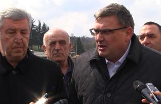 Зоран Дробњак, вд директора - друга трака Обилазнице код Остружнице до 15.априла