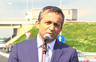 Branko Miljković, owner of MBA Miljković - statement on the occasion of opening Belgrade Bypass for traffic