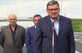 Зоран Дробњак, в.д. директора ЈППС - изјава поводом отварања за саобраћај Обилазнице око Београда