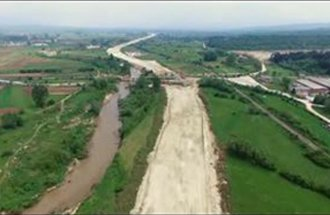 Изградња ауто-пута на Коридору 10 деоница Српска кућа-Левосоје