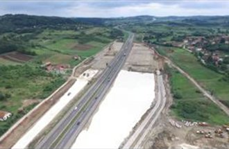 Construction of new front toll station Vrčin