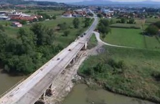 Reconstruction of bridge at the bypass route around Čačak