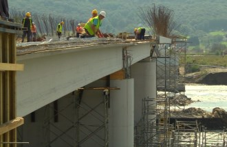 Contruction of the Bridge Ljubovija-Bratunac
