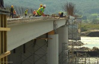 Изградња моста Љубовија - Братунац