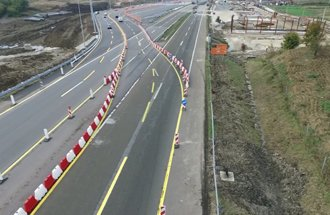 Toll station Vrčin in development - diverting traffic