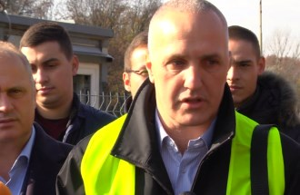 Игор Радовић, ЈППС шеф пројекта постављања зидова за заштиту од буке