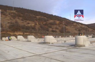 Construction of new toll station Dimitrovgrad