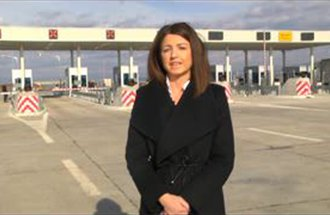Nikolina Arbutina, Statement on commencement of operation of toll station Preševo
