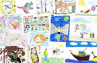 The contest of children's drawings
