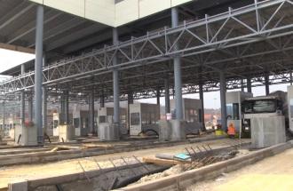 Radovi na izgradnji naplatne stanice Vrčin