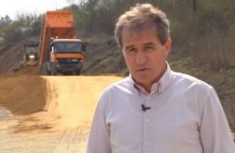 Construction of motorway Kragujevac-Batočina, statement of Ljubiša Živković, Director of PZP Kragujevac