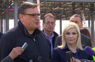 Naplatna stanica Beograd kod Vrčina / izjava vd direktora Zoran Drobnjak