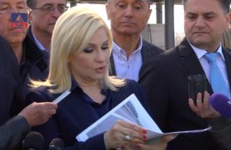 Наплатна станица Београд код Врчина / изјава Проф.др Зорана Михајловић