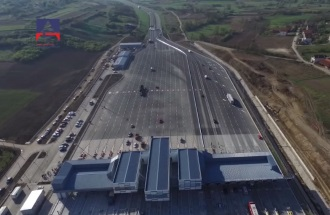 Opening of new toll station Beograd at Vrčin