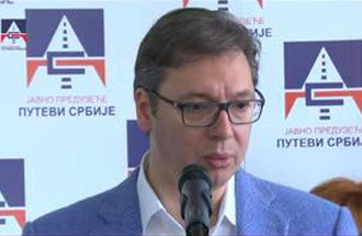 Otvaranje nove naplatne stanice Beograd kod Vrčina - izjava Aleksandar Vučić, predsednik Vlade Srbije