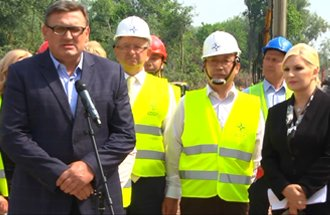 Visit of works on the section Surčin-Obrenovac - statement Zoran Drobnjak, Acting Director of PERS
