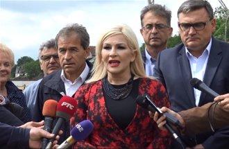 Obilazak radova na izgradnji autoputa Kragujevac-Batočina - Izjava Zorana Mihajlović, potpredsednica Vlade Srbije