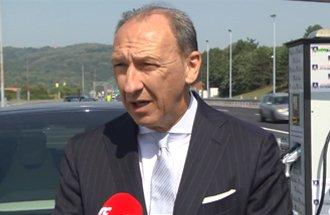 Saša Stojanović, Assistant minister for Construction, Transport and Infrastructure, statement on EV charging station