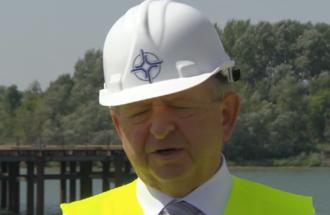 Izjava Imre Kern, državni sekretar u Ministarstvu građevinarstva, saobraćaja i infrastrukture nakon obilaska radova na izgradnji novog mosta preko Kolubare i Save kod Obrenovca