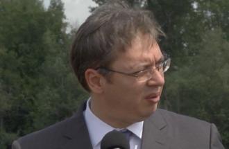 Izjava Aleksandar Vučić, predsednik Republike Srbije - obilazak radova na izgradnji novog mosta preko Kolubare i Save kod Obrenovca