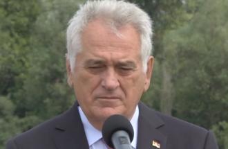 Izjava Tomislav Nikolić, predsednik Saveta za saradnju sa Rusijom i Kinom - obilazak radova na izgradnji novog mosta preko Kolubare i Save kod Obrenovca