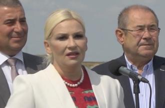 Izjava Zorana Mihajlović, potpredsednica Vlade Srbije - otvaranje za saobraćaj dela Y kraka