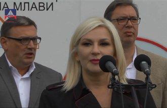 Statement Zorana Mihajlović, Deputy Prime Minister of the Republic of Serbia - reconstructed road Žagubica - Krepoljin