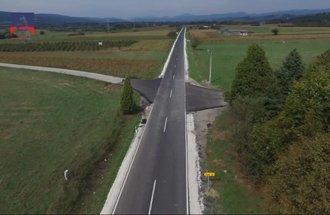 Reconstructed road Žagubica - Krepoljin