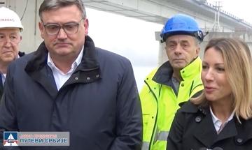 Dubravka Negre, direktorka kancelarije EIB-a za Zapadni Balkan – izjava prilikom obilaska radova na izgradnji mosta preko Save kod Ostružnice