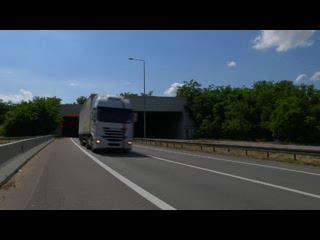 ITS traffic control, tunnels Železnik and Lipak