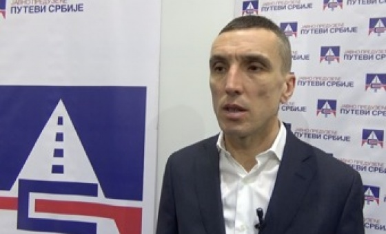"26.03.18. Statement of Darko Savić, PE ""Roads of Serbia"", at Belgrade Car Show"
