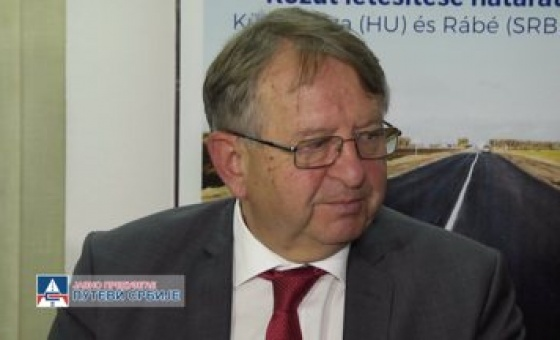 """11.10.18. Press conference: """" Development of a Road Border Crossing at Kübekháza (Hungary) - Rabe (Serbia)"""""""